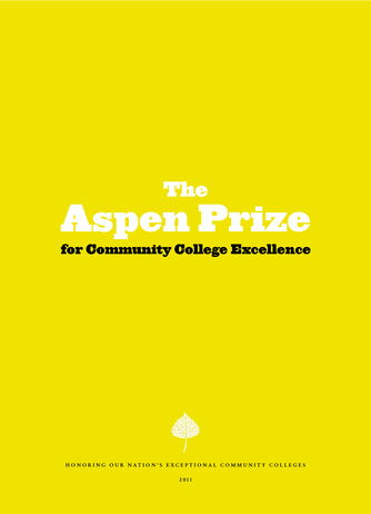 And Then There Were 10: Aspen Prize Finalists Announced