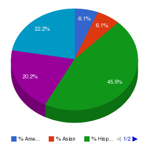 South Mountain Community College Ethnicity Breakdown