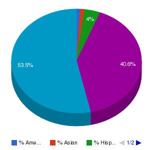 Nunez Community College Ethnicity Breakdown