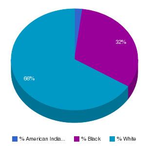 Pamlico Community College Ethnicity Breakdown