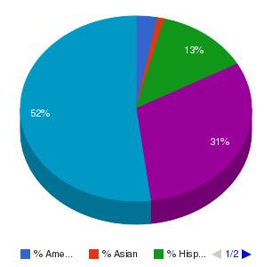 Sampson Community College Ethnicity Breakdown
