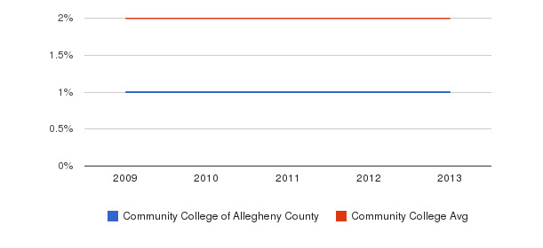 Community College of Allegheny County More&nbsp(2009-2013)