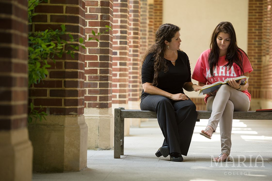 Maria College of Albany Photo #1 - Learning takes place inside and outside classrooms with frequent professor and student interactions.