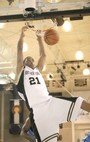Northeastern Junior College Photo - A.J. Wilson slam dunk during the Bank of Colorado Shootout. NJC's athletic teams are consistently in the top 20 in the NJCAA.