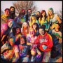 Coffeyville Community College Photo #2 - Just a few of those who participated in CCC's Holi Festival of Color