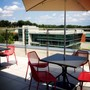 Cecil College Photo #5 - Outside lounge that overlooks the campus.
